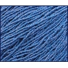 Seedbead 10/0 Opaque Dark Blue Aurora Borealis Strung
